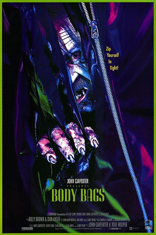 "La mini-trilogia horror di ""Body bags"" (J. Carpenter, T. Hooper, 1992)"