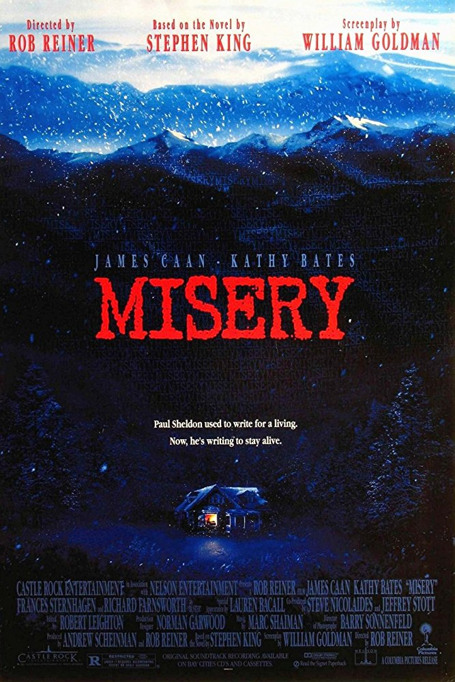 """Ancora oggi, """"Misery non deve morire"""" (R. Reiner, 1990)"""