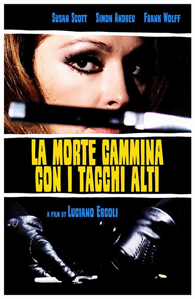 """Giallo erotico all'italiana: """"La morte cammina con i tacchi alti"""""""
