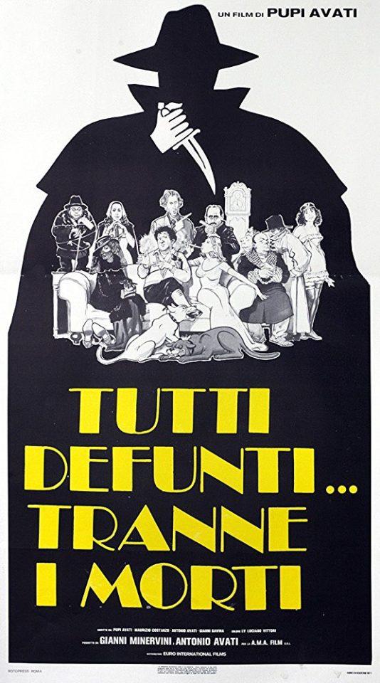 """La parodia all'inglese del giallo/horror di Avati: """"Tutti defunti tranne i morti"""""""