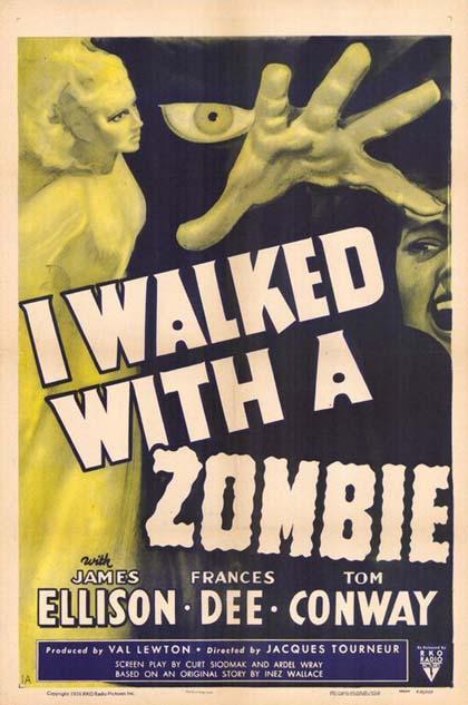 """""""Ho camminato con uno zombie"""" ha ispirato George Romero, ed è invecchiato benissimo"""