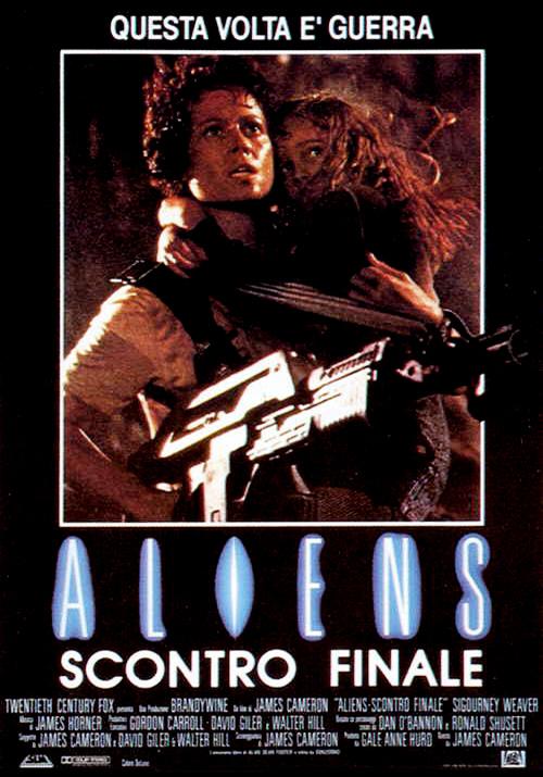 """Aliens – Scontro finale"" (J. Cameron, 1986)"