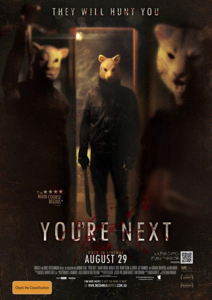 """""""You're the next"""" è uno degli horror più frenetici di A. Wingard"""