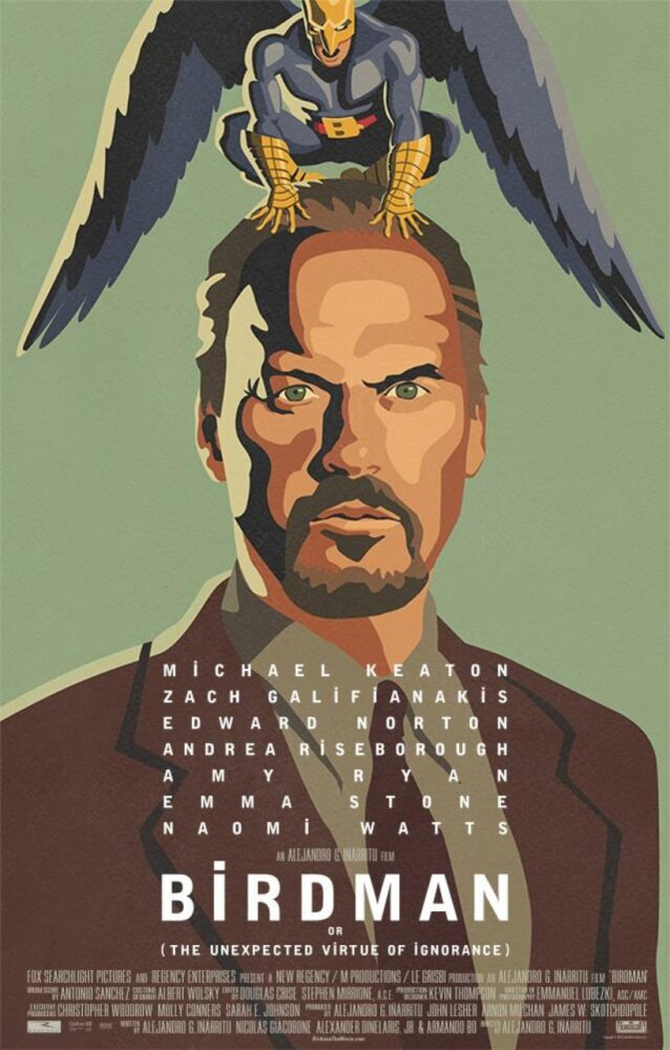 """Birdman o (L'imprevedibile virtù dell'ignoranza)"", (Alejandro González Iñárritu, 2014)"