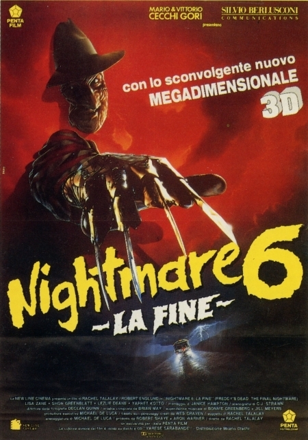 Nightmare 6 – La fine (R. Talalay, 1991)