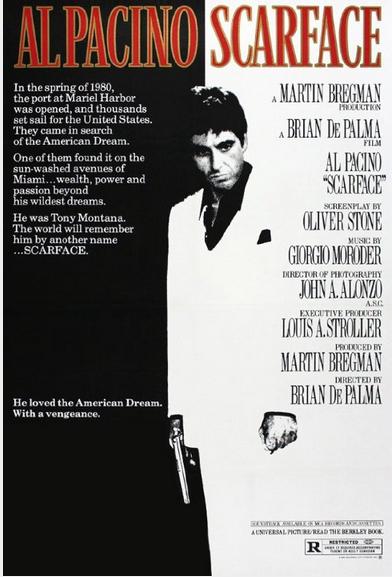 """""""Scarface"""" di B. De Palma: the world is yours, l'alfa e l'omega"""
