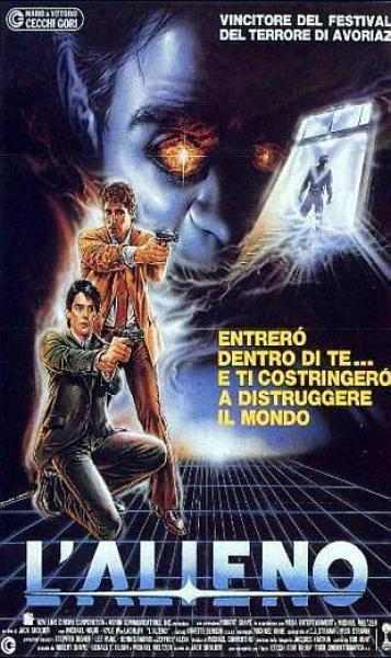 """L'alieno"" (The hidden,  J. Sholder, 1987)"