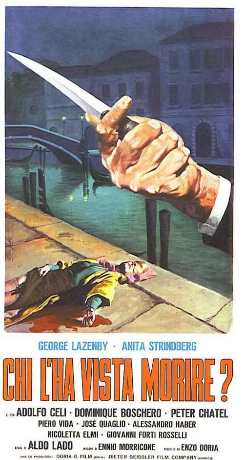 """""""Chi l'ha vista morire?"""" (A. Lado, 1972)"""