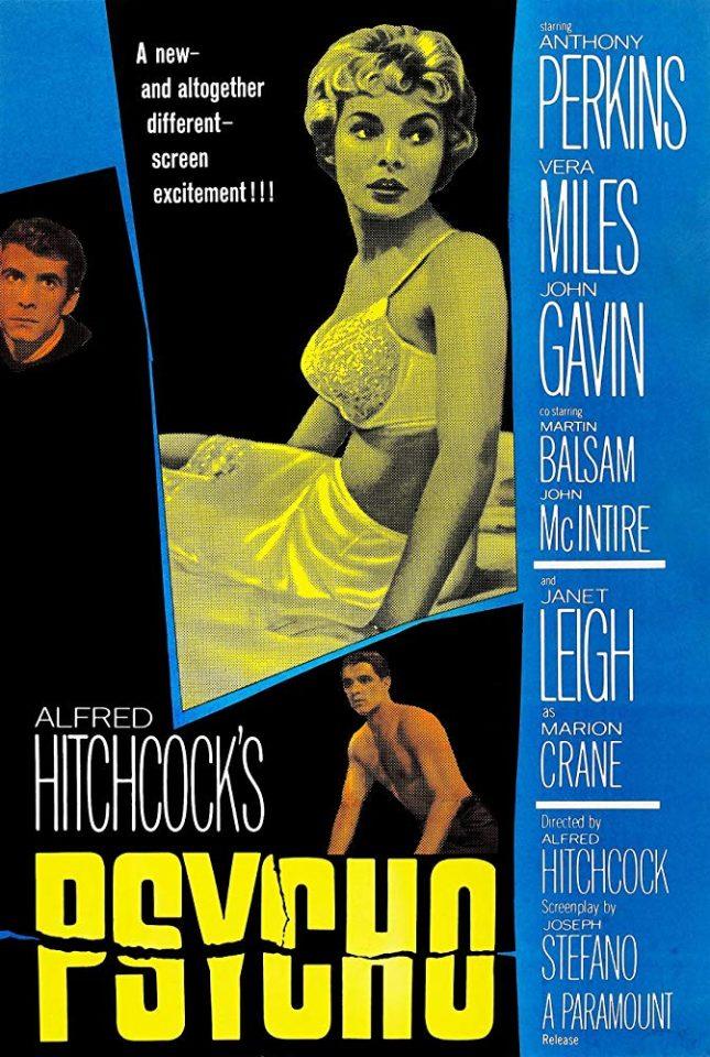 Psycho (A. Hitchcock, 1960)
