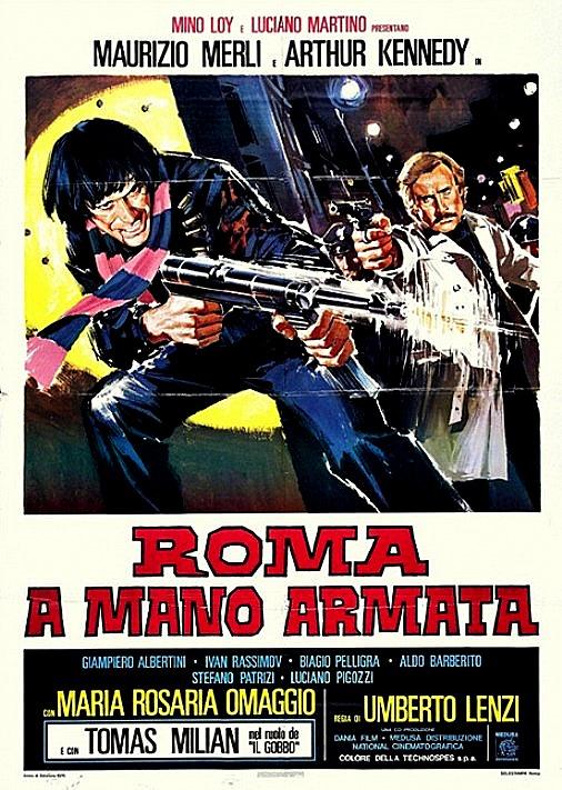 """""""Roma a mano armata"""" (U. Lenzi, 1976)"""