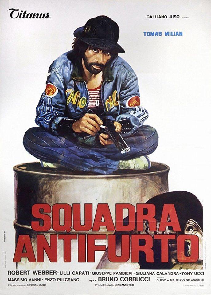 """B-movie anni 70: """"Squadra antifurto"""" di B. Corbucci"""
