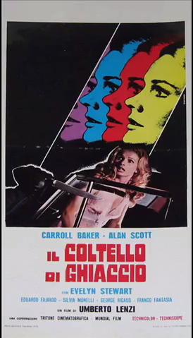 """Falsi sospetti, occulti depistaggi: """"Il coltello di ghiaccio"""" (U.Lenzi 1972)"""