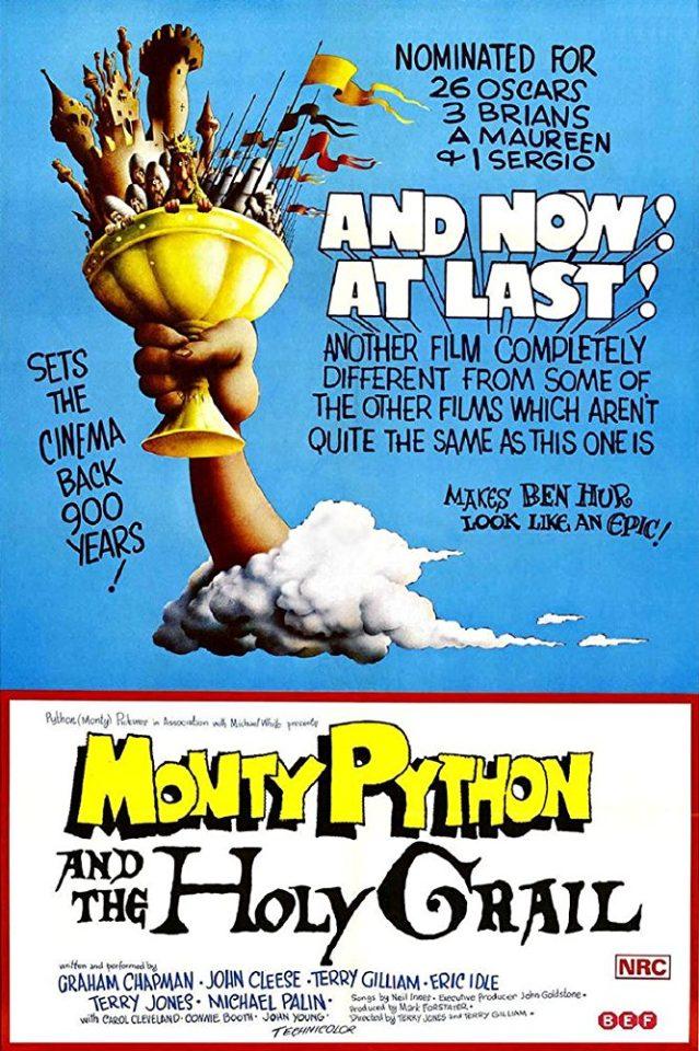 """Monty Python e il Sacro Graal"" (T. Gilliam, T. Jones, 1975)"