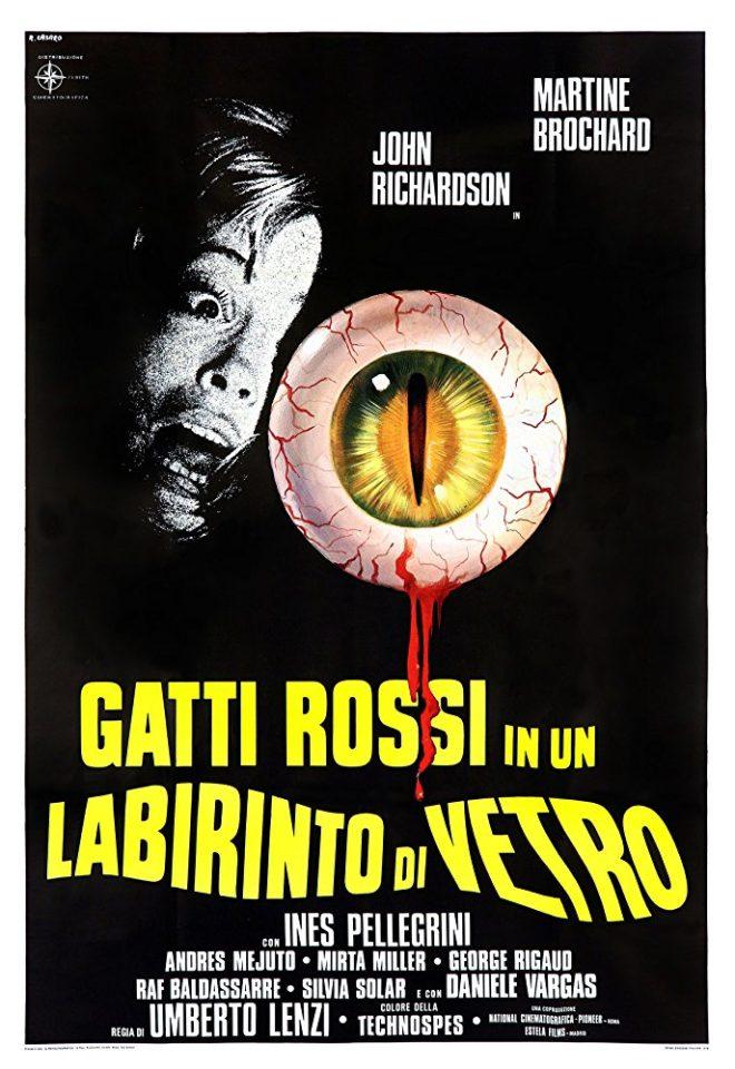 """Giallo italiano: """"Gatti rossi in un labirinto di vetro"""" (U. Lenzi, 1975)"""