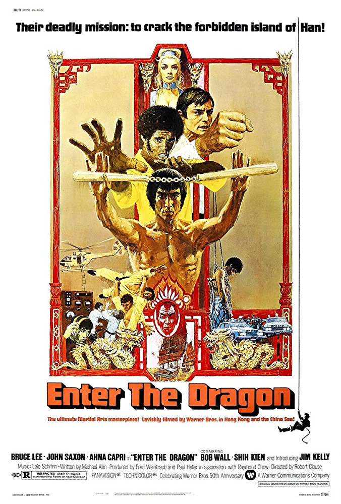 """I 3 dell'operazione drago"" ha consacrato Bruce Lee come star del cinema"