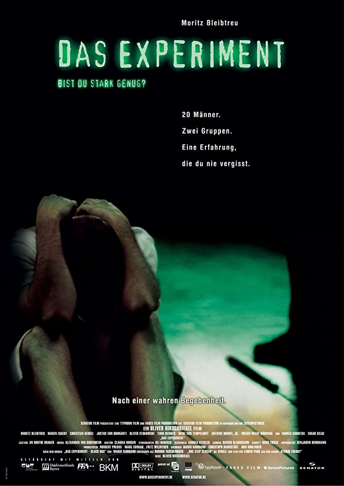 "Esperimenti sociali: ""The experiment"" (Hirschbiegel, 2001)"