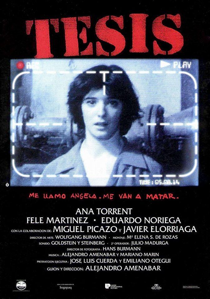 """""""Tesìs"""" (A. Amenàbar, 1996)"""