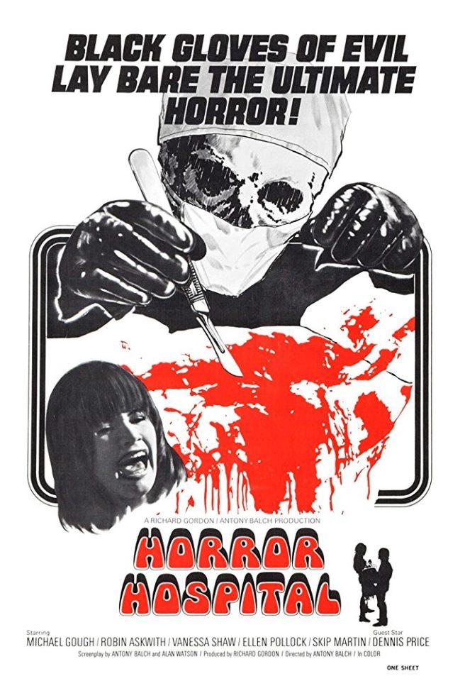 """Diario proibito di un collegio femminile (""""Horror Hospital"""", A. Balch, 1973)"""