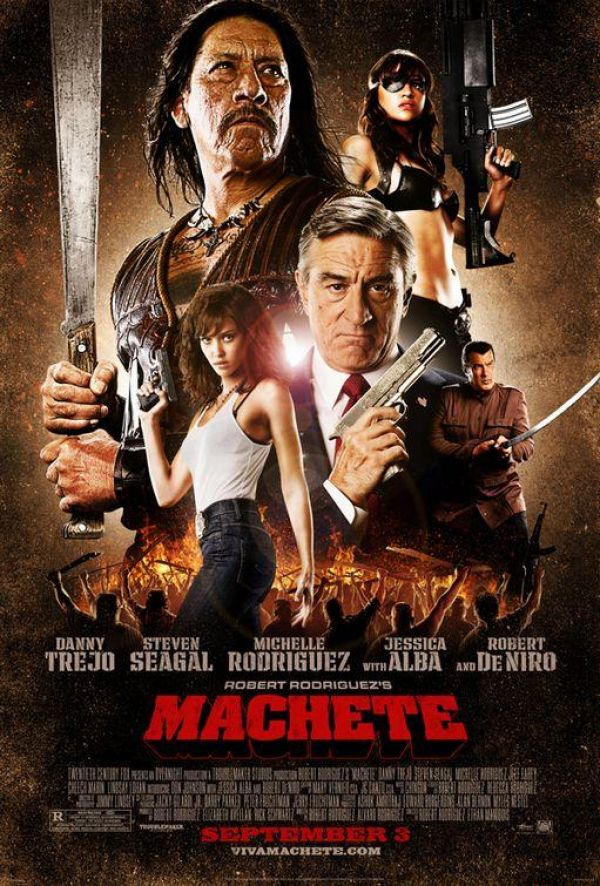 """Machete"" di Robert Rodriguez è un inno al cinema d'azione"
