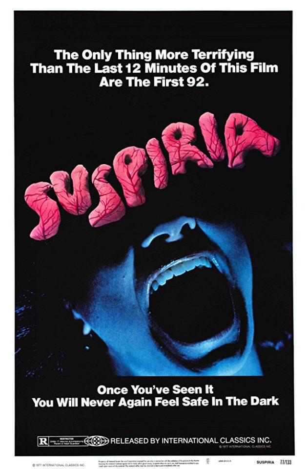 """""""Suspiria"""" di Dario Argento è un horror stregonesco e suggestivo"""