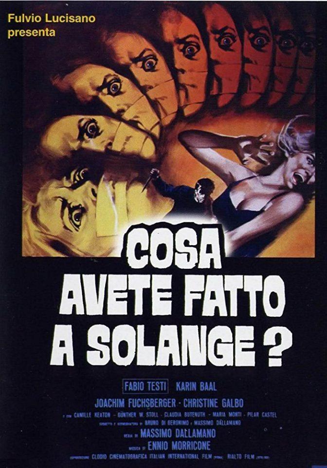 """Giallo all'italiana: """"Cosa avete fatto a Solange?"""""""