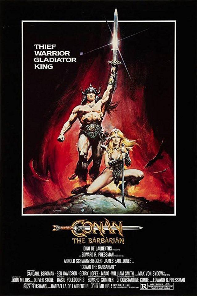 """Conan il barbaro"" (J. Milius , 1982)"