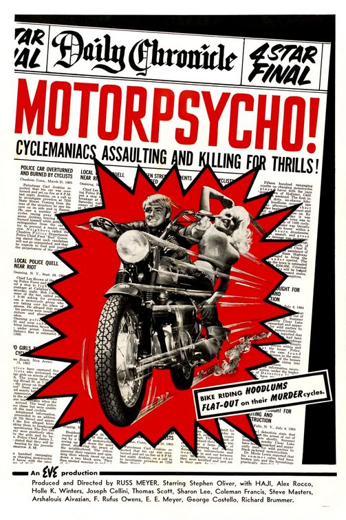 "Fregna, motociclette e road movie: ""Motorpsycho!"" di Russ Mayer)"