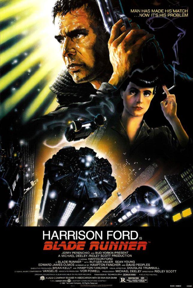 Blade Runner di Ridley Scott è uno dei migliori film di fantascienza di tutti i tempi