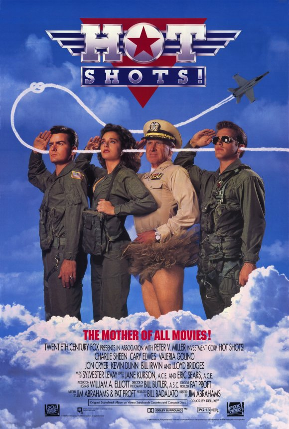 """""""Hot shots!"""" di Jim Abrahams fa ancora oggi le scarpe a qualsiasi film demenziale"""