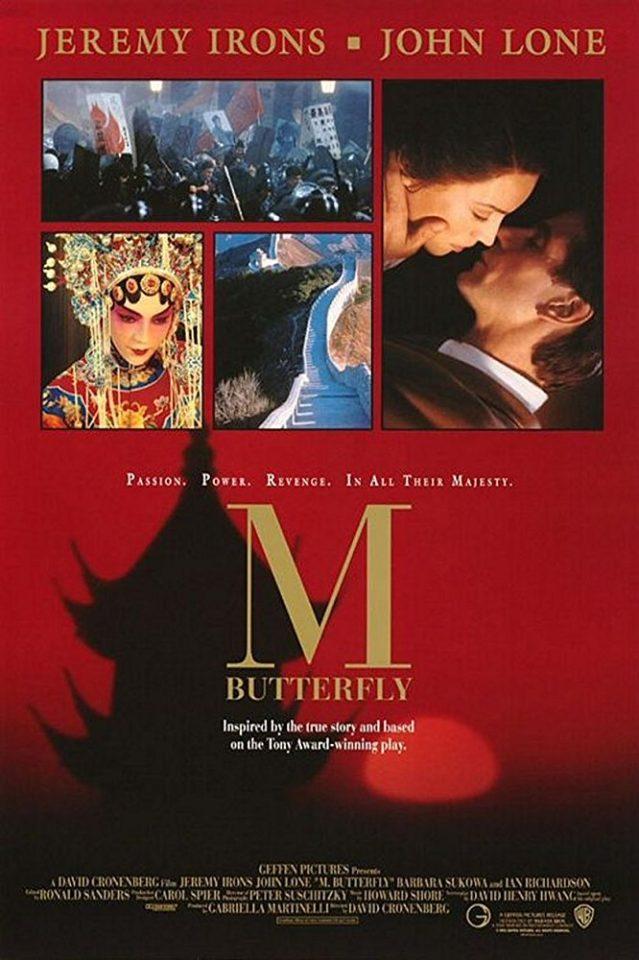 """M. Butterfly"" è il film più teatrale di David Cronenberg"
