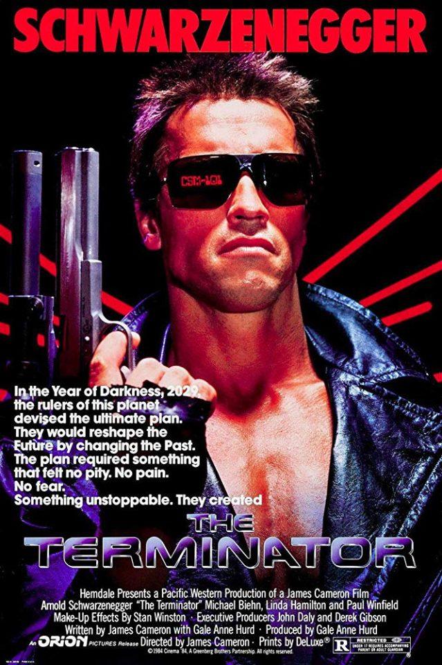 """Il primo """"Terminator"""" di J. Cameron ha inventato un nuovo genere"""