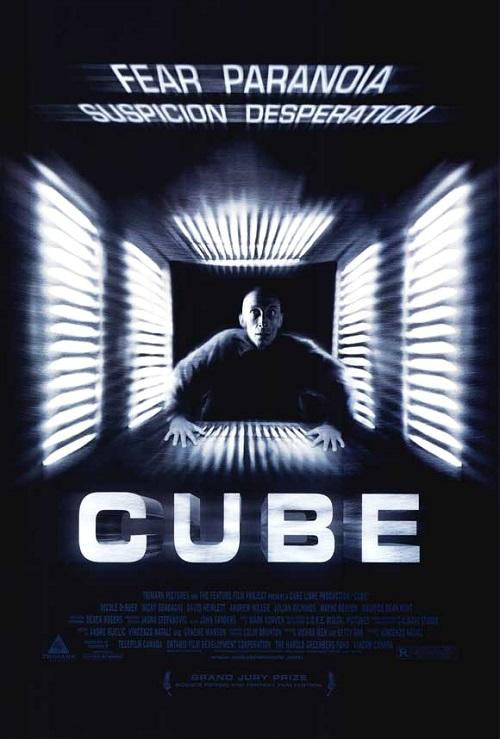 """""""Cube"""" di Vincenzo Natali è il film perfetto per esorcizzare la paranoia"""