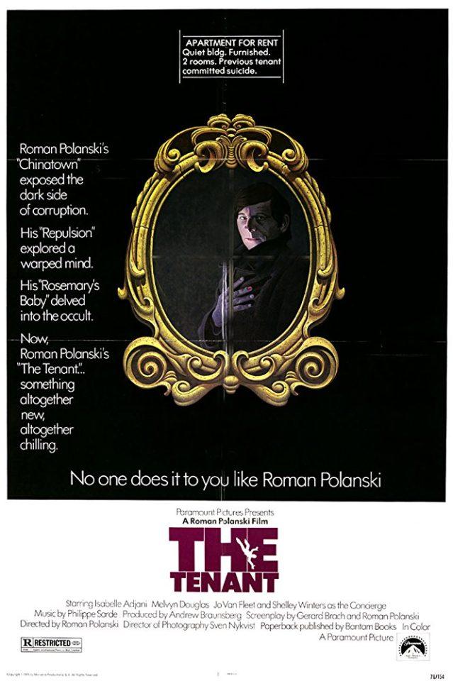 """""""L'inquilino del terzo piano"""" (R. Polanski, 1976)"""