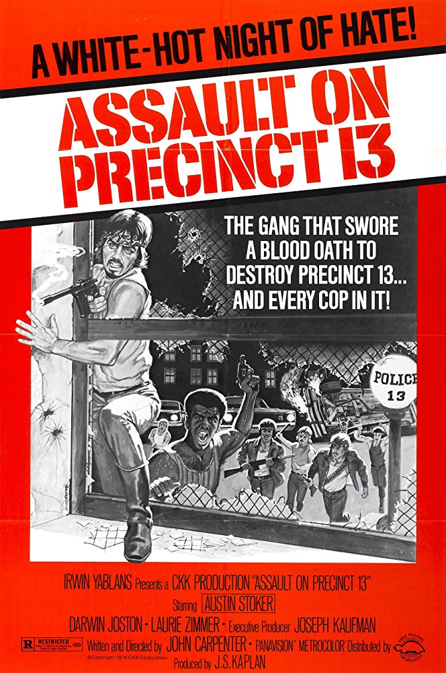 Distretto 13 – Le brigate della morte (J. Carpenter,1976)