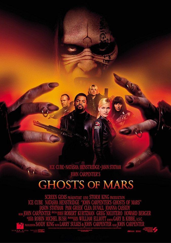"""Fantasmi da marte"": il western fantascientifico di John Carpenter"