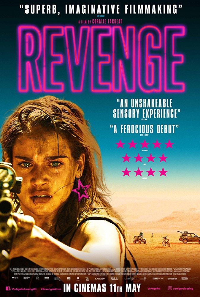 "Revenge movie recenti: ""Revenge"" (C. Fargeat, 2017)"