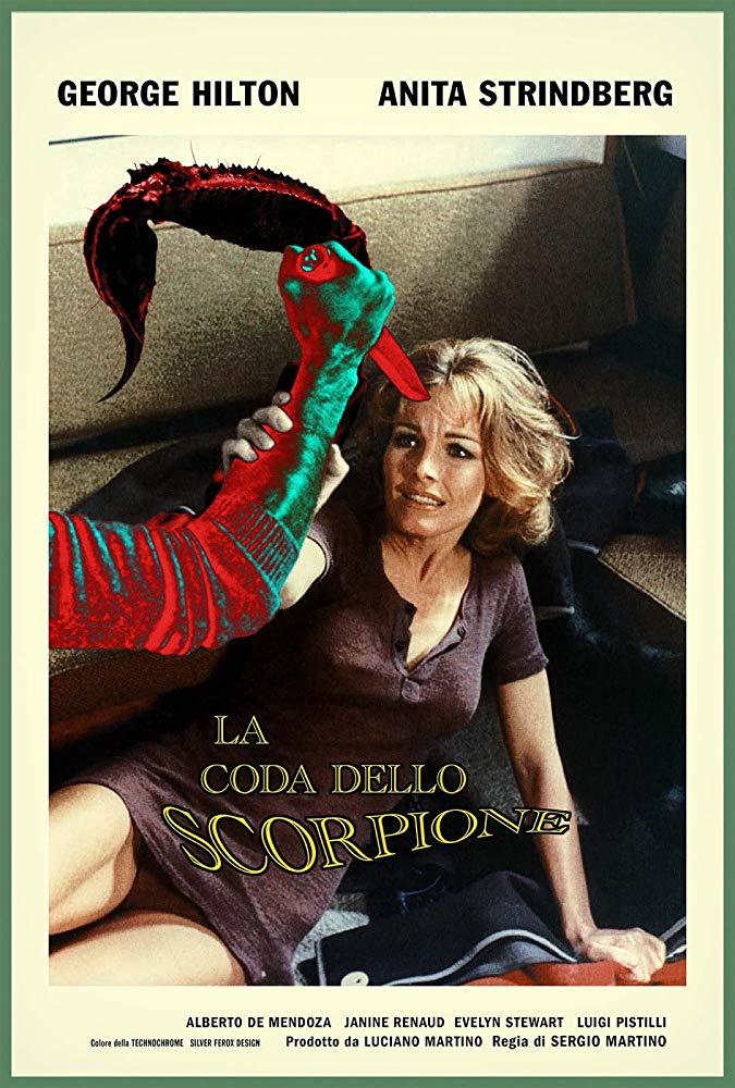 """Dal 1971: """"La coda dello scorpione"""" di Sergio Martino"""