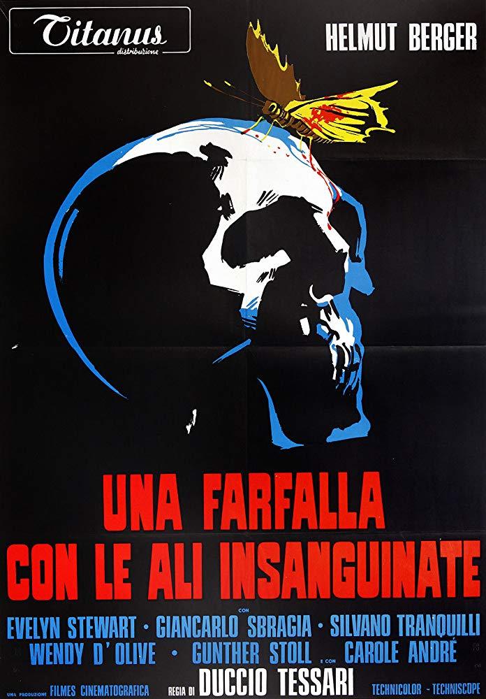"""""""Una farfalla con le ali insanguinate"""" (D. Tessari, 1971)"""