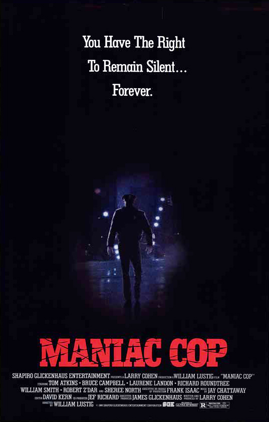 """Maniac Cop – Poliziotto sadico"" (W. Lusting, 1988)"