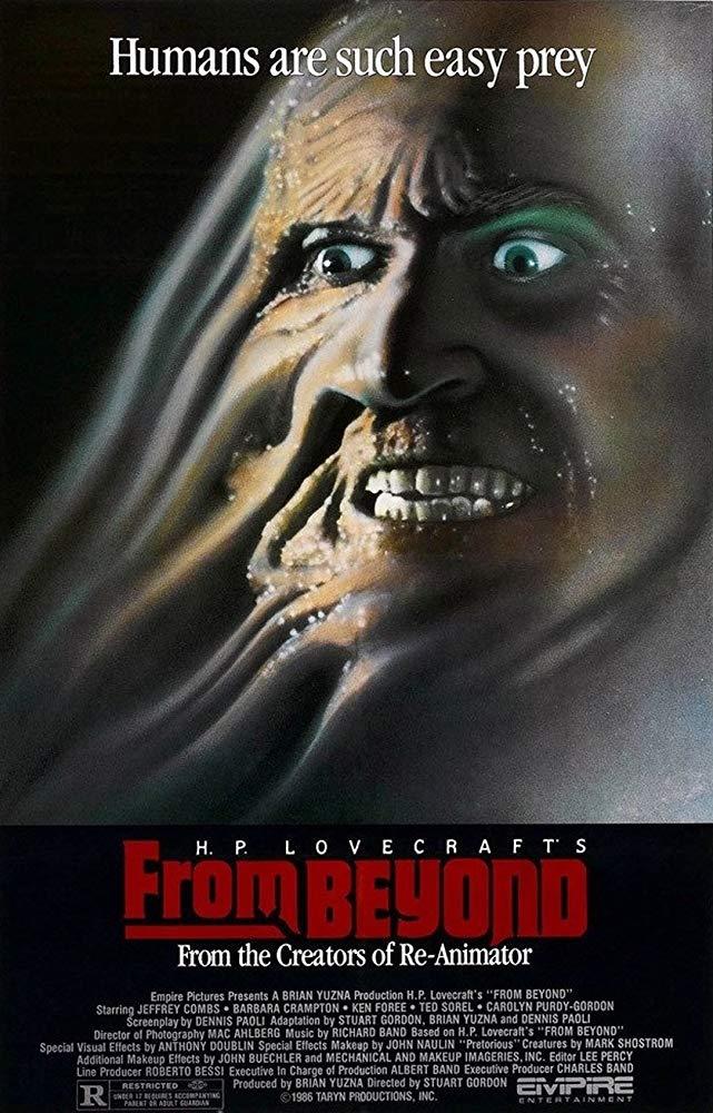 """From beyond – Terrore dall'ignoto"" ha ispirato i film Hellraiser e Society"