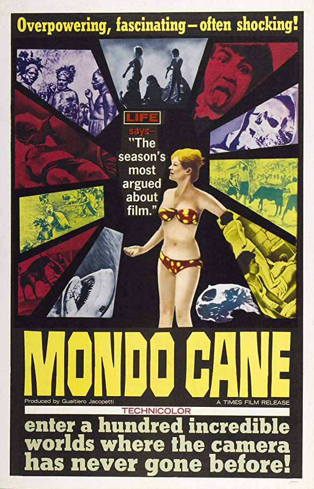 """""""Mondo cane"""" (G. Jacopetti, 1962)"""