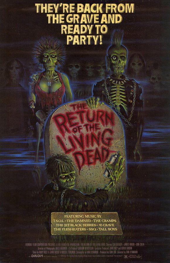 """""""Il ritorno dei morti viventi"""" è uno dei film di zombi che non puoi non aver visto"""