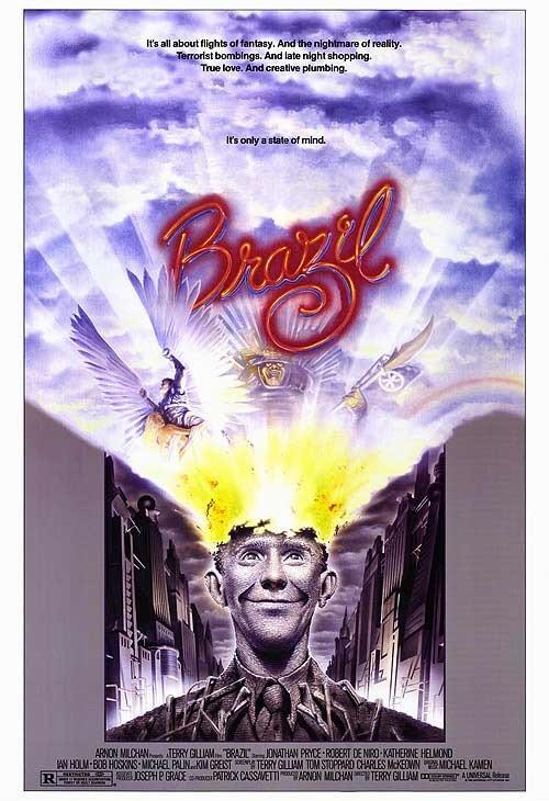"""""""Brazil"""" di Terry Gilliam è un sublime saggio distopico, tuttora ineguagliato"""