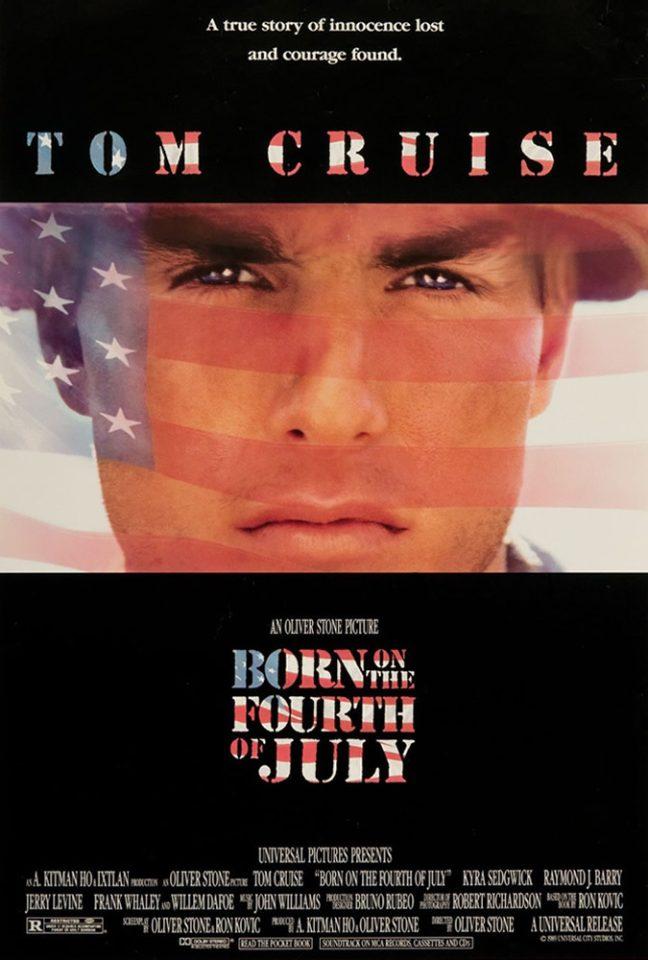 """La vera storia di Ron Kovic secondo Oliver Stone: """"Nato il quattro luglio"""""""