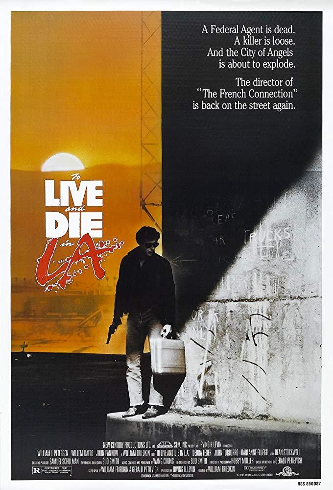 """""""Vivere e morire a Los Angeles"""" (W. Friedkin, 1985)"""