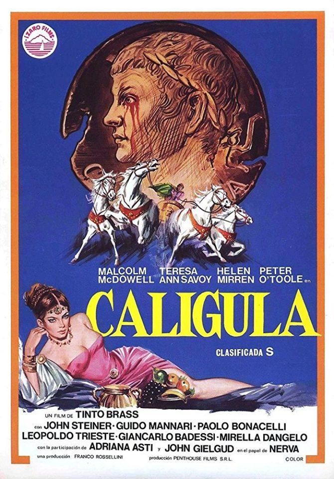 """""""Io, Caligola"""" di Tinto Brass è uno dei film più massacrati dalla produzione della storia"""