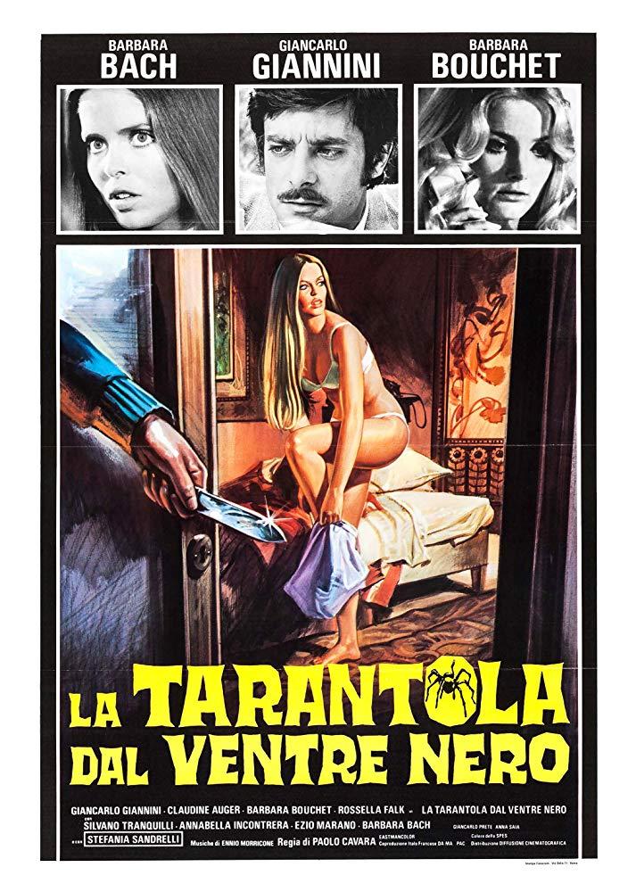 """""""La tarantola dal ventre nero"""" (P. Cavara, 1971)"""