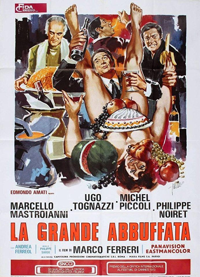 """Il cinema sociale di Ferreri: """"La grande abbuffata"""""""