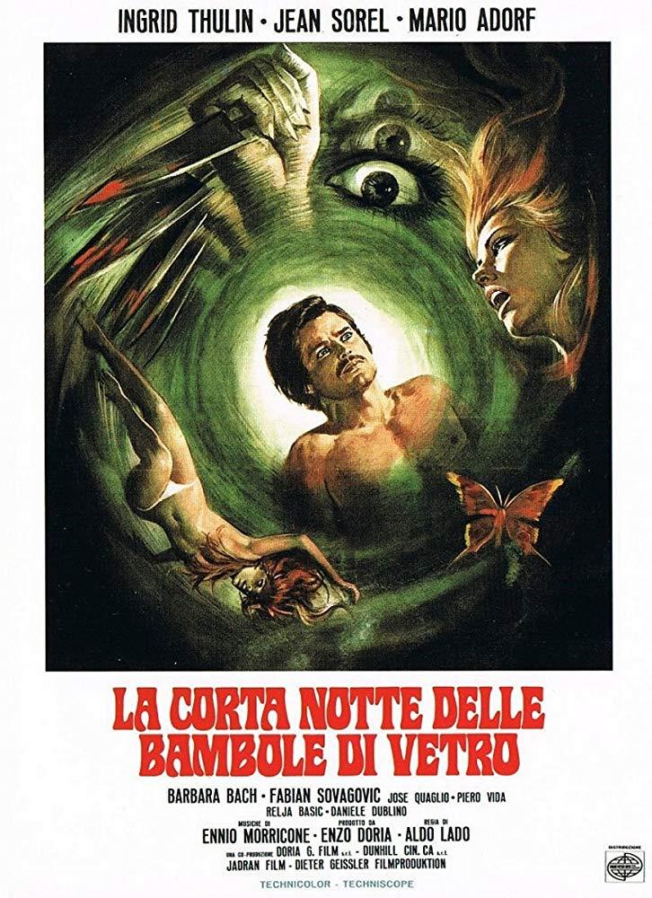 """Il primo film di Aldo Lado: """"La corta notte delle bambole di vetro"""""""