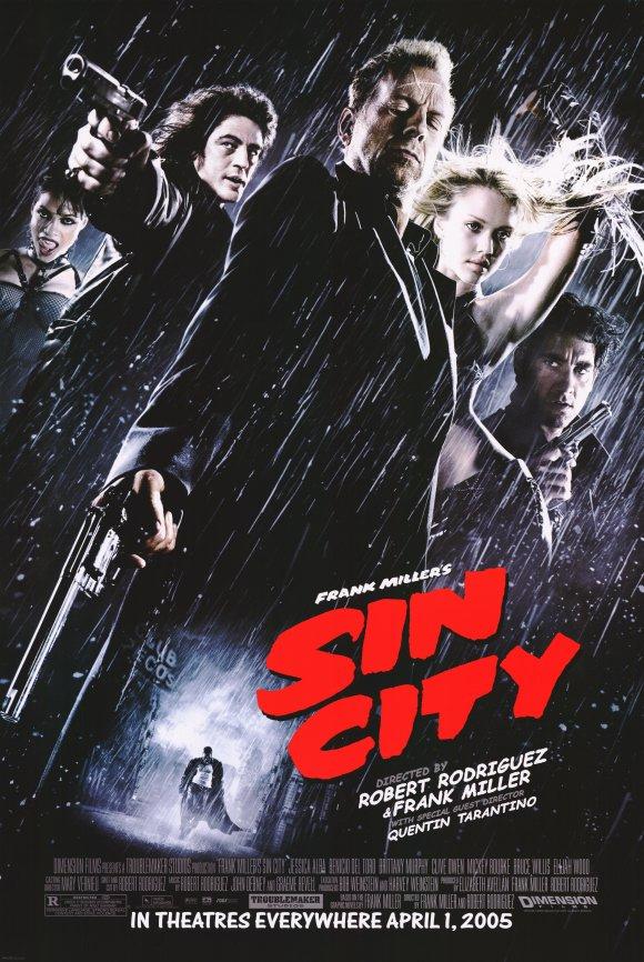 """Sin city"" (F. Miller, R. Rodriguez, Q. Tarantino, 2005)"